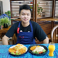 十七岁少年的作品~咖喱猪扒饭的做法图解24