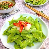 蒜片苦瓜----健康饮食必备的做法图解10