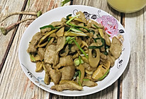 笋片炒腩肉的做法