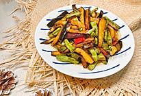 下饭素菜:豆角烧茄子的做法