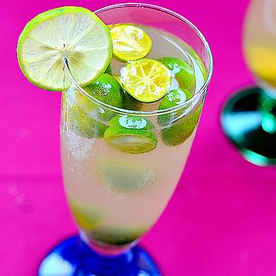 提神冷饮——绿茶柠桔汽水