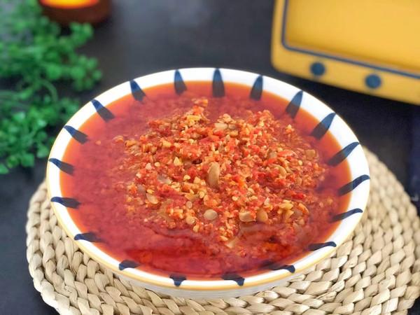 自制蒜蓉辣椒酱的做法