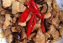 下饭菜香辣香菇肉片的做法