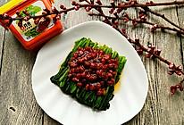 肉酱拌菠菜#春天就酱吃#的做法