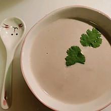 培根蘑菇汤