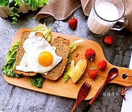低脂英式早餐#春天不减肥,夏天肉堆堆#的做法