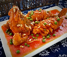 松鼠桂鱼#我的品道美食#的做法