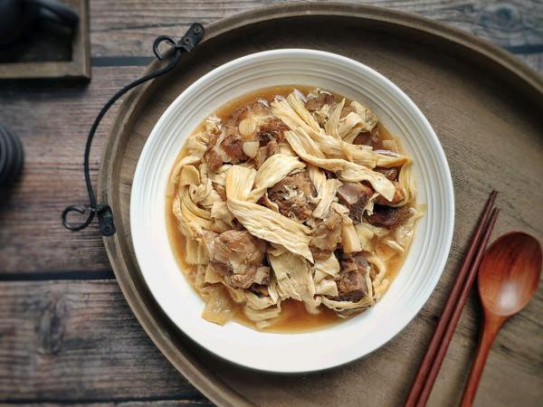 腐竹焖排骨 腐竹比排骨还好吃的做法