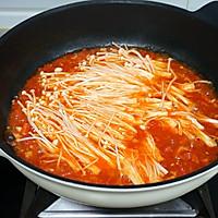 西红柿金针菇浓汤的做法图解7