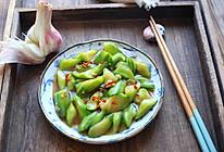 蚝油丝瓜的做法