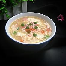 蟹黄豆腐羹