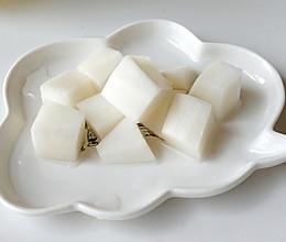#福气年夜菜# 韩国炸鸡绝配,腌白萝卜,脆爽酸甜