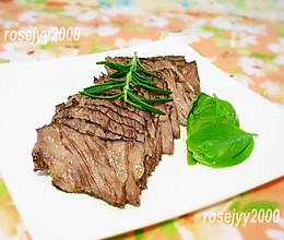 香草烤牛肉的做法