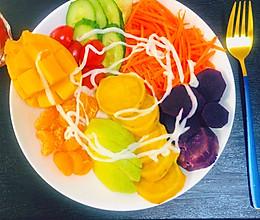 丰富维生素-果蔬沙拉的做法