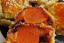 #宅家厨艺 全面来电#手抓饼版蛋黄酥的做法