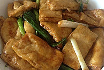 青蒜豆腐的做法