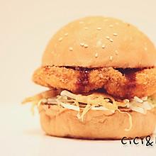 【汉堡】-日式猪排堡