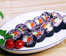 桃红大虾寿司卷的做法