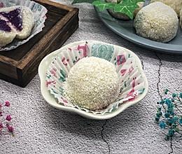 紫薯糯米糍#节后清肠大作战#的做法