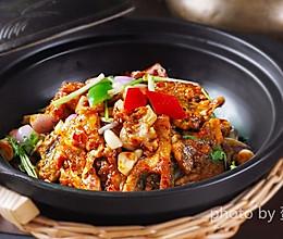 【中餐厅】张亮拿手菜-砂锅鱼头煲的做法