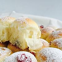 蓝莓爆浆小面包#宜家让家更有味#的做法图解8