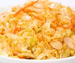 凉拌包菜丝丨做法简单,酸辣爽口的做法