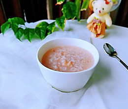 #秋天怎么吃#粳米莲藕粥的做法