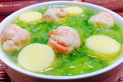 萝卜丝虾滑豆腐汤