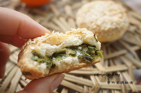 #年味十足的中式面点#老上海味道——蟹壳黄的做法