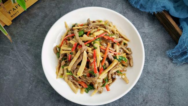 #肉食者联盟# 杏鲍菇炒牛肉的做法