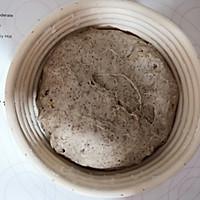 黑啤核桃乡村面包的做法图解10