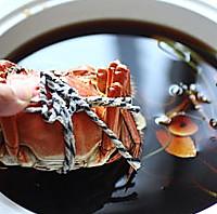 【慢氏秘制花雕熟醉蟹】几十次的试验 终于破解红透的熟醉蟹的做法图解15