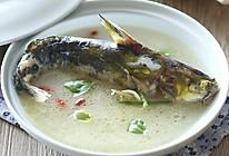 紫苏黄骨鱼汤的做法