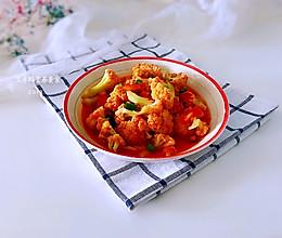 #节后清肠大作战#茄汁花菜的做法