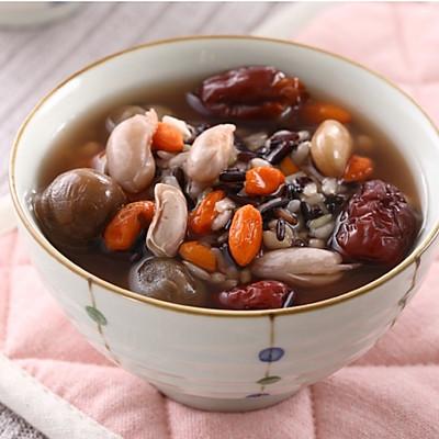 红枣枸杞桂圆粥