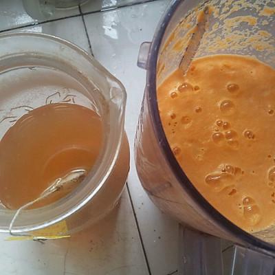 两日瘦身-胡萝卜苹果汁+红茶