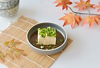 日式小葱拌豆腐的做法