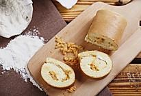 肉松戚风蛋糕卷(烤箱做蛋糕)的做法