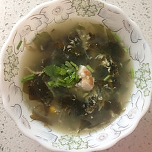 海木耳鸡蛋汤