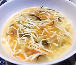无需煮高汤的文思豆腐羹 低脂也美味的做法