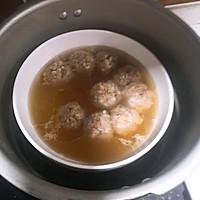 #春季减肥,边吃边瘦#鲜菇肉丸汤的做法图解10