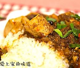 麻婆豆腐盖饭的做法