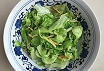 闪速快手小素菜---炝拌圆白菜包菜的做法