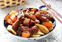 山药胡萝卜焖猪蹄的做法