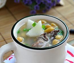 山药黄豆肉骨汤的做法