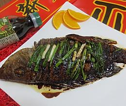 """年夜饭必备 年年有""""鱼""""#菁选酱油试用之红烧海鱼#的做法"""