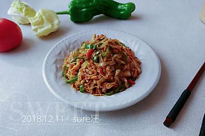 西紅柿炒洋白菜
