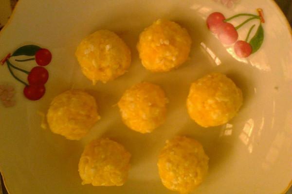 黄金米圆子的做法