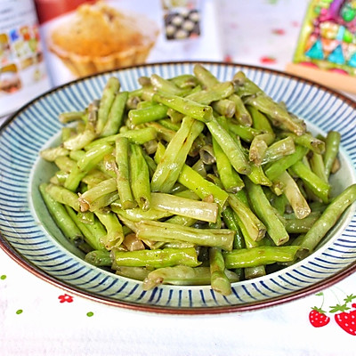 蒜香腐乳炒豆角