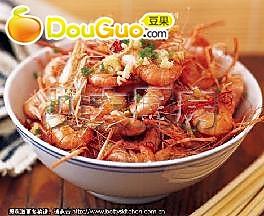 酱油青虾的做法